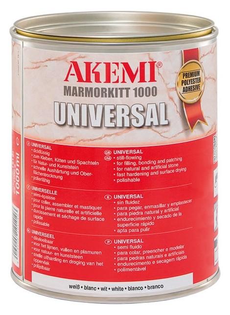 Akemi Marmorkitt 1000 Universal Knifegrade White