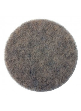 Natural Hair Pads - 17 inch case of 5