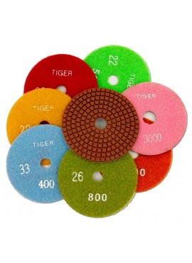 "Diamond Discs - Tiger - 4"" 1500 Grit"