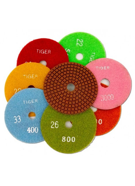"Diamond Discs - Tiger - 4"" 800 Grit"