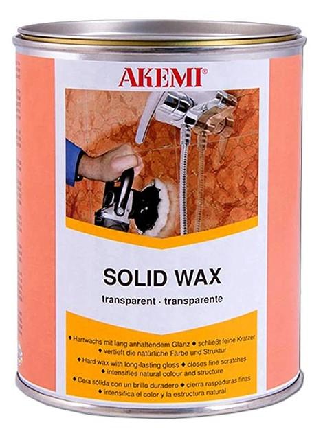 Akemi Solid Wax - Transparent