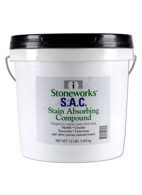 S.A.C (Stain Absorbing Compound) - 12 lb. pail