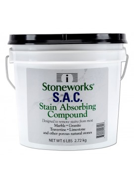 S.A.C (Stain Absorbing Compound) - 6 lb. pail