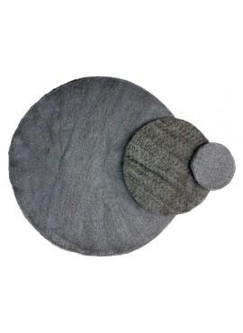 Steel Wool Pads - 7 in grade 0/1/2