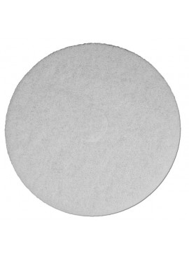 White Buffing Pads - 19 inch case of 5