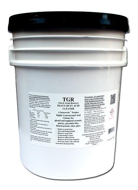 TGR - Tile & Grout Restorer - 55 gal. pail